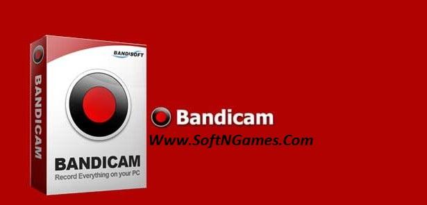Bandicam Crack 3.3.0.1191 Serial Key Cover-SoftNGames