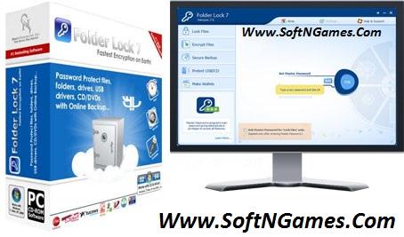 Folder Lock Crack 7.6.5 Serial key Cover-SoftNGames
