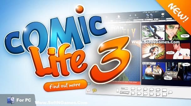 Comic Life 3.5.5 License Key-Cover-SoftNGames