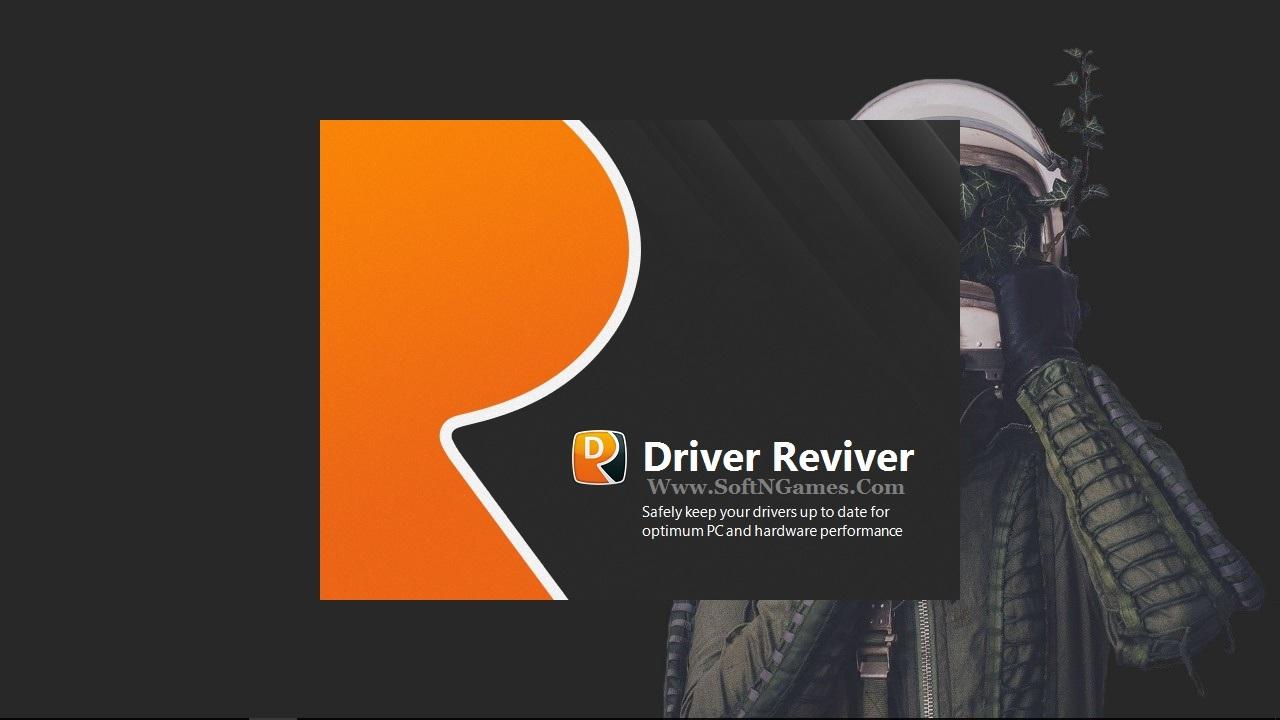 ReviverSoft Driver Reviver Key-Cover-SoftNGames