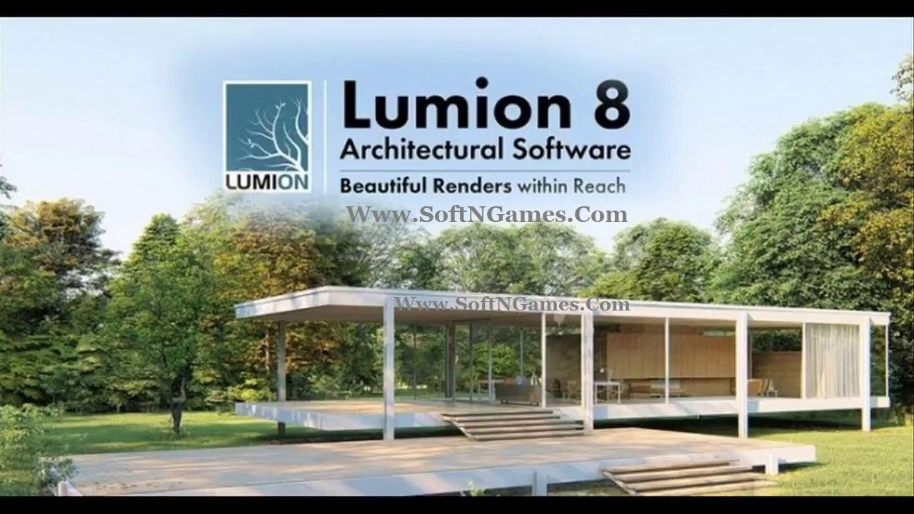 Lumion Pro 8 Crack-cover-SoftNGames