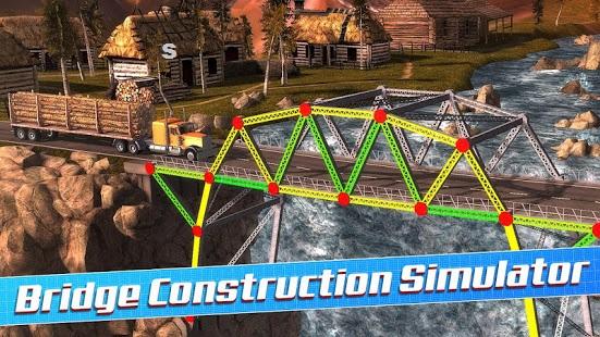 Bridge Construction Simulator-Cover-Softngames